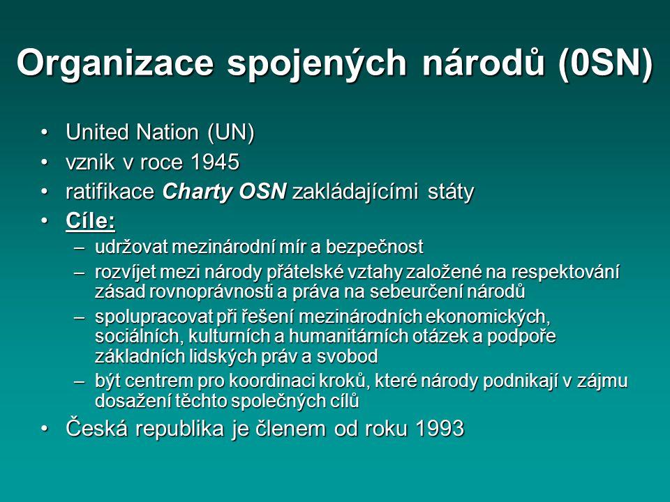 Organizace spojených národů (0SN)