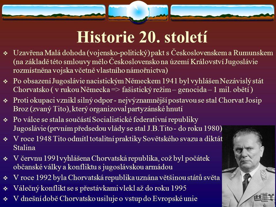Historie 20. století