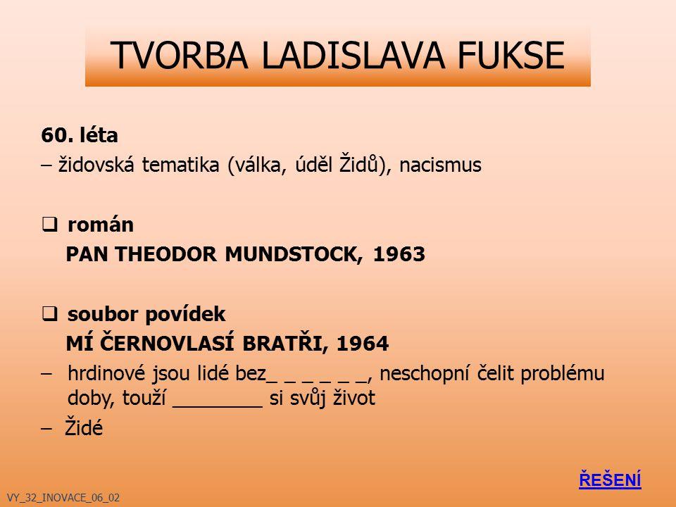 TVORBA LADISLAVA FUKSE