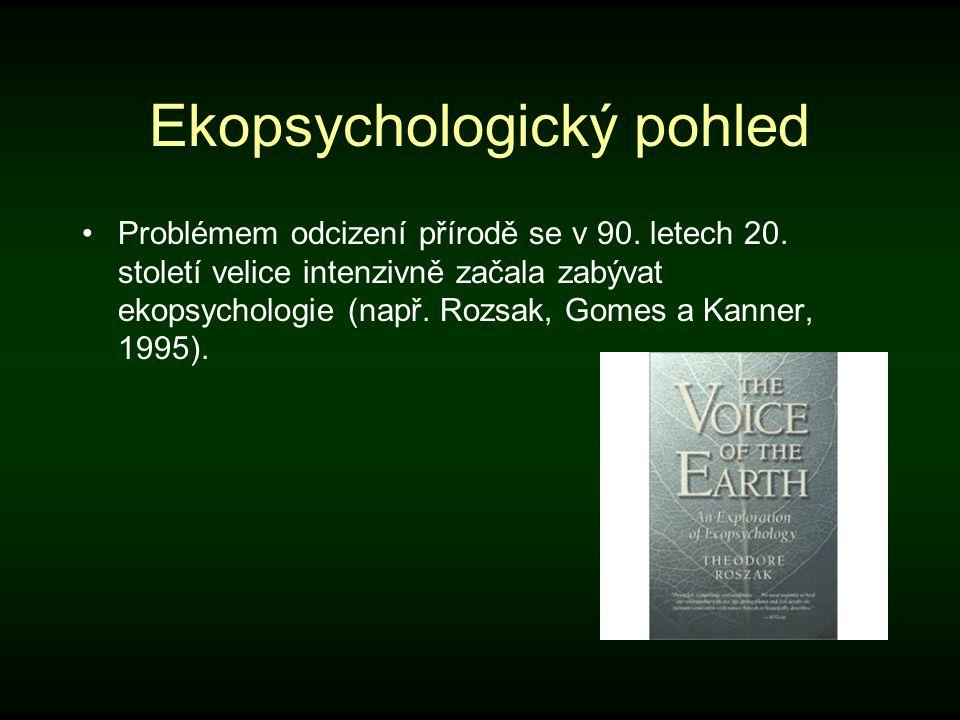 Ekopsychologický pohled