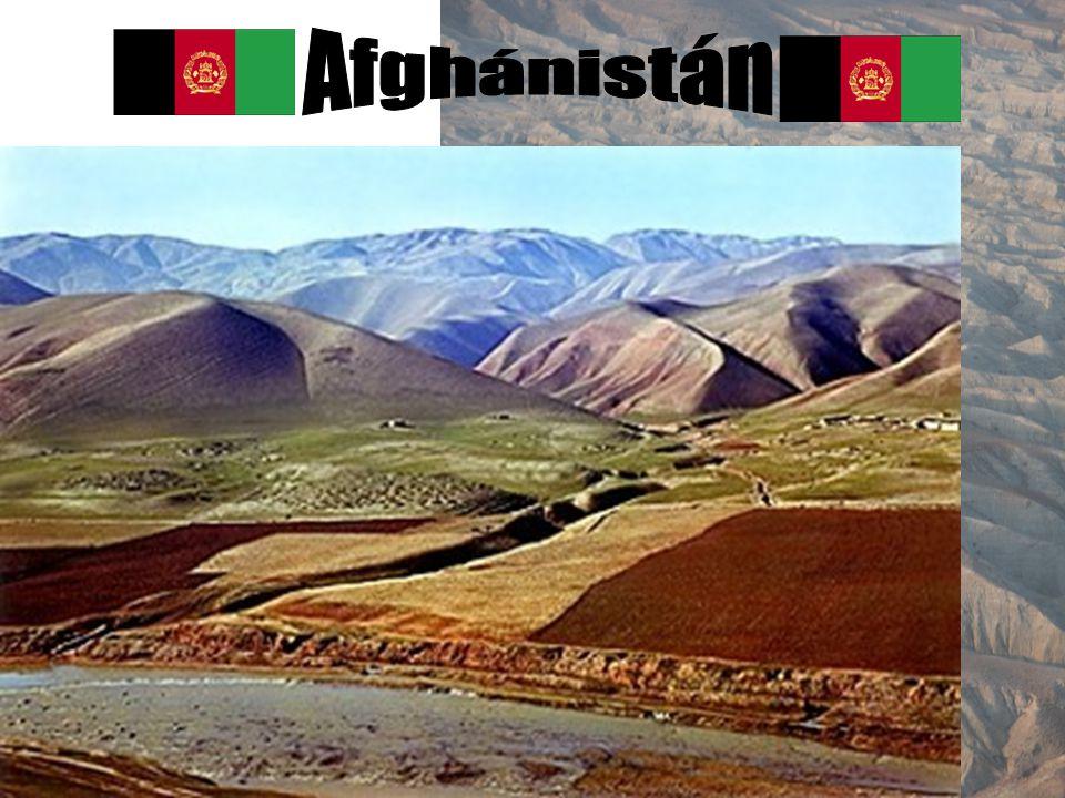 Afghánistán Přírodní podmínky