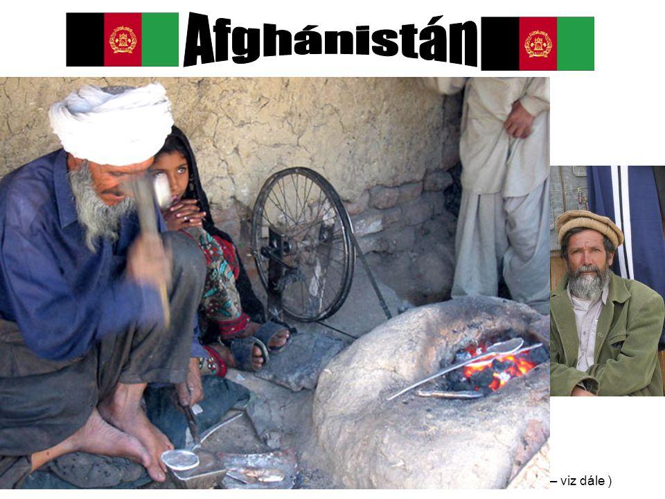 Afghánistán Obyvatelstvo