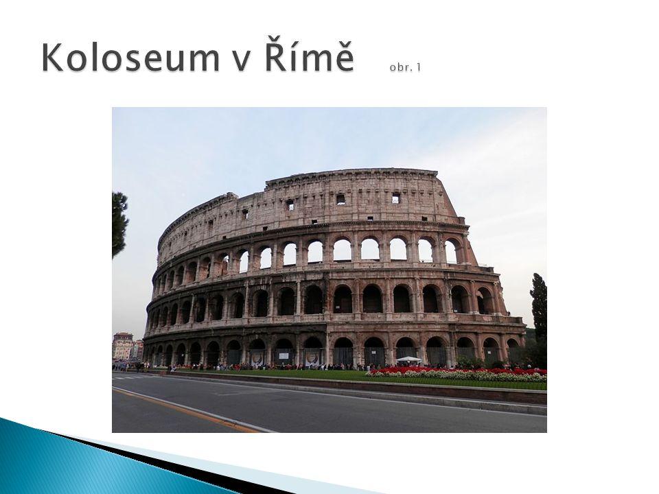 Koloseum v Římě obr. 1