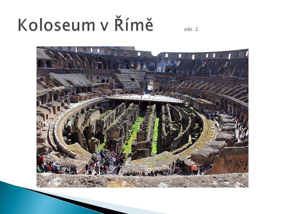 Koloseum v Římě obr. 2