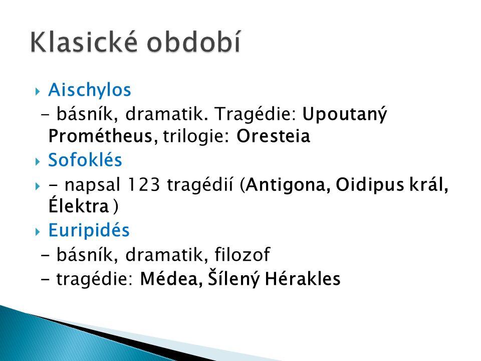 Klasické období Aischylos