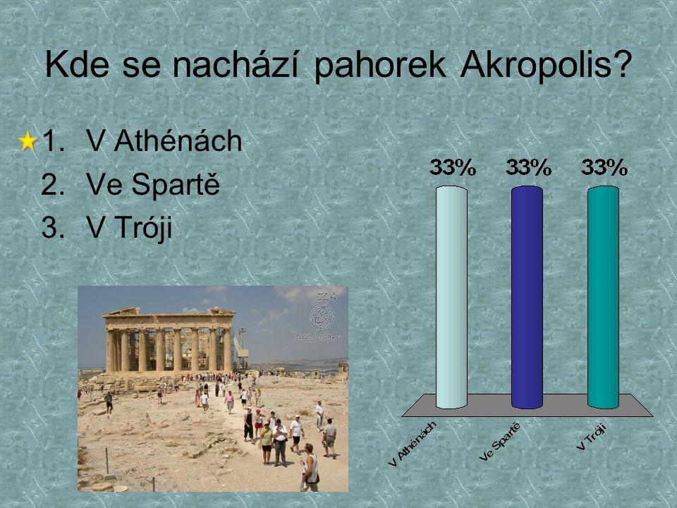 Kde se nachází pahorek Akropolis