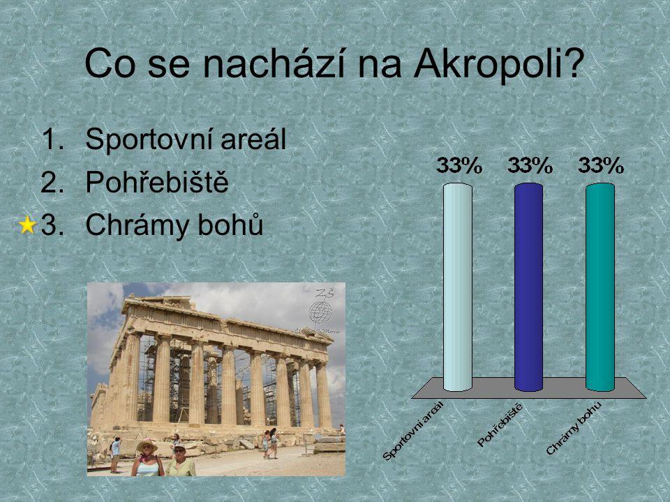 Co se nachází na Akropoli