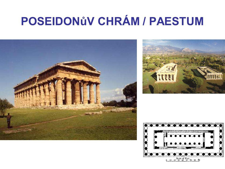 POSEIDONůV CHRÁM / PAESTUM