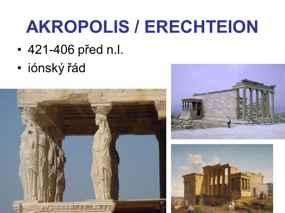 AKROPOLIS / ERECHTEION