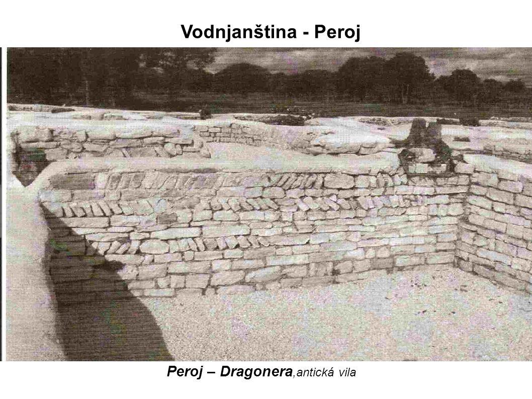 Peroj – Dragonera,antická vila