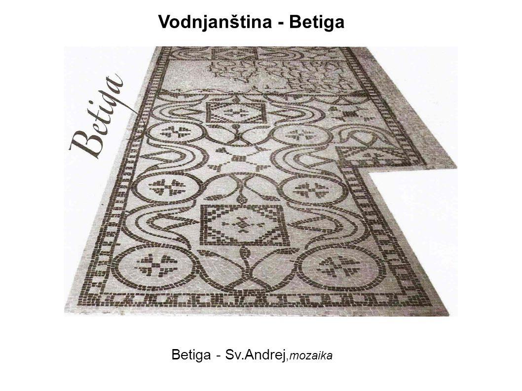 Betiga - Sv.Andrej,mozaika
