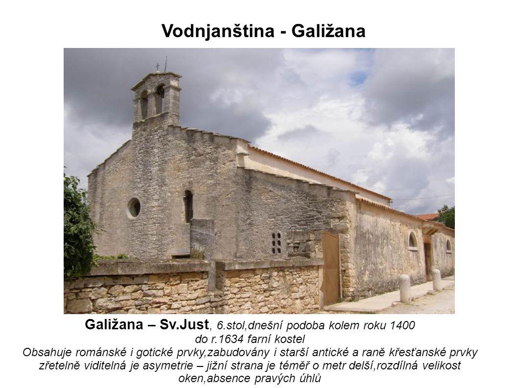 Vodnjanština - Galižana