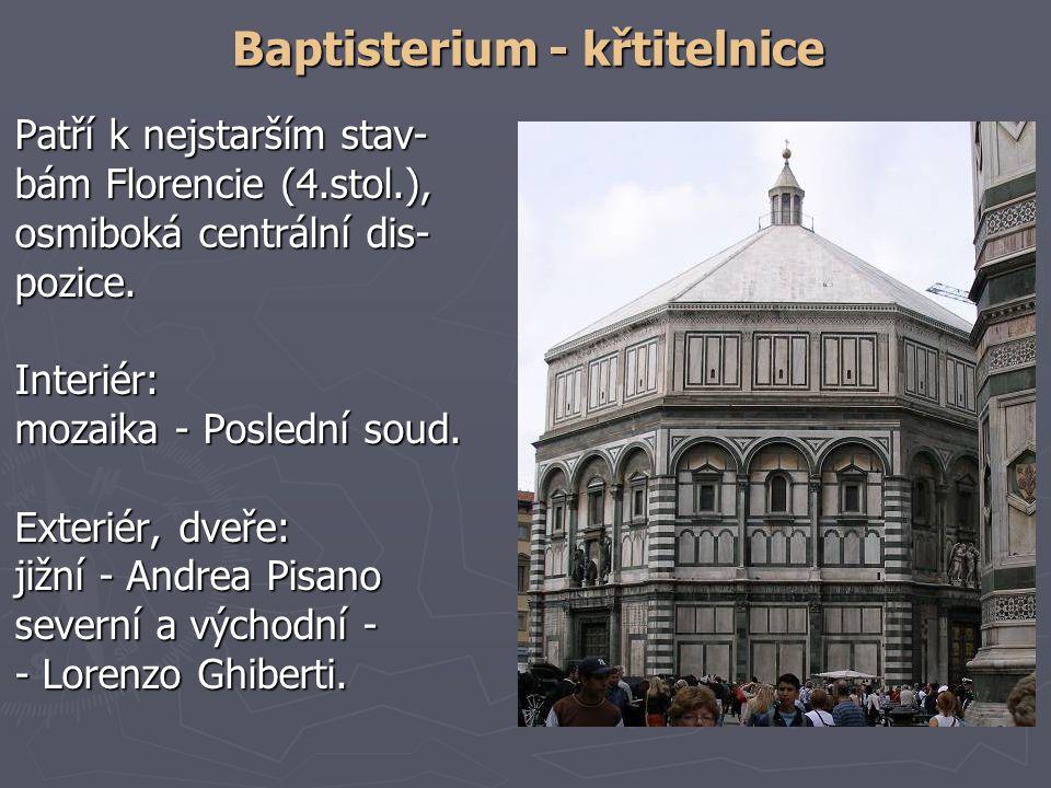 Baptisterium - křtitelnice