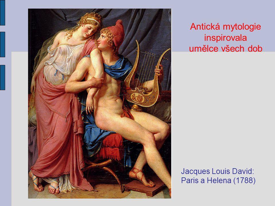 Antická mytologie inspirovala