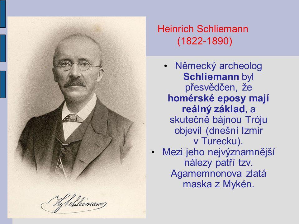 Heinrich Schliemann (1822-1890)
