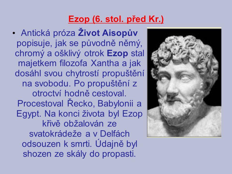 Ezop (6. stol. před Kr.)
