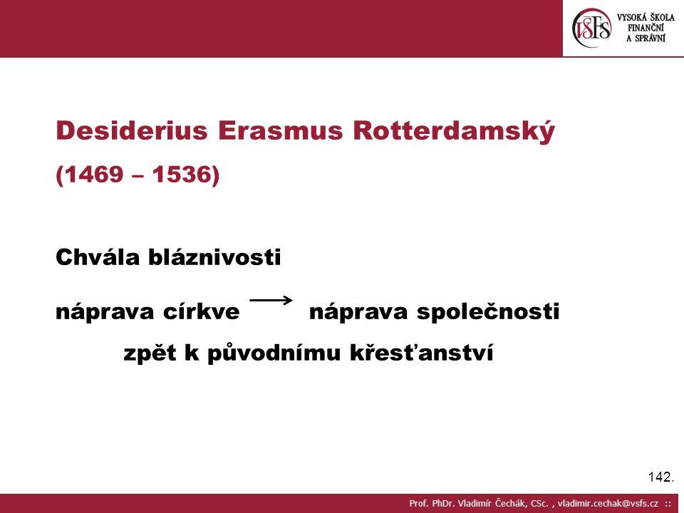 Desiderius Erasmus Rotterdamský