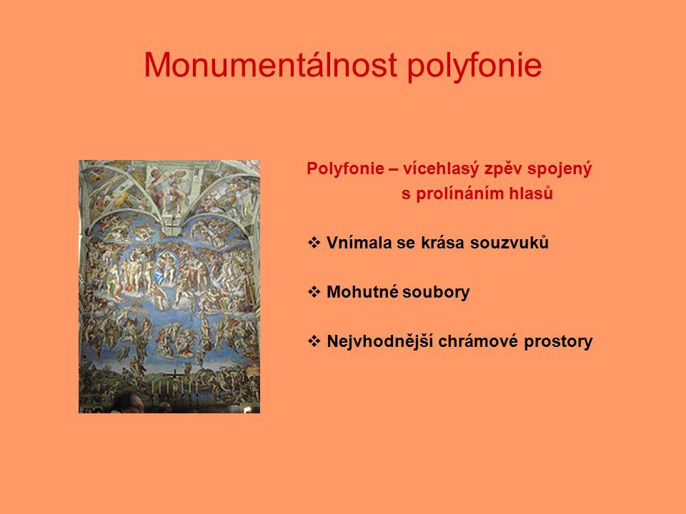 Monumentálnost polyfonie