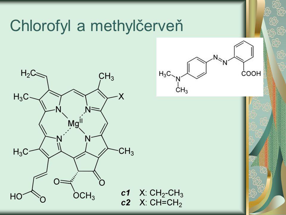 Chlorofyl a methylčerveň