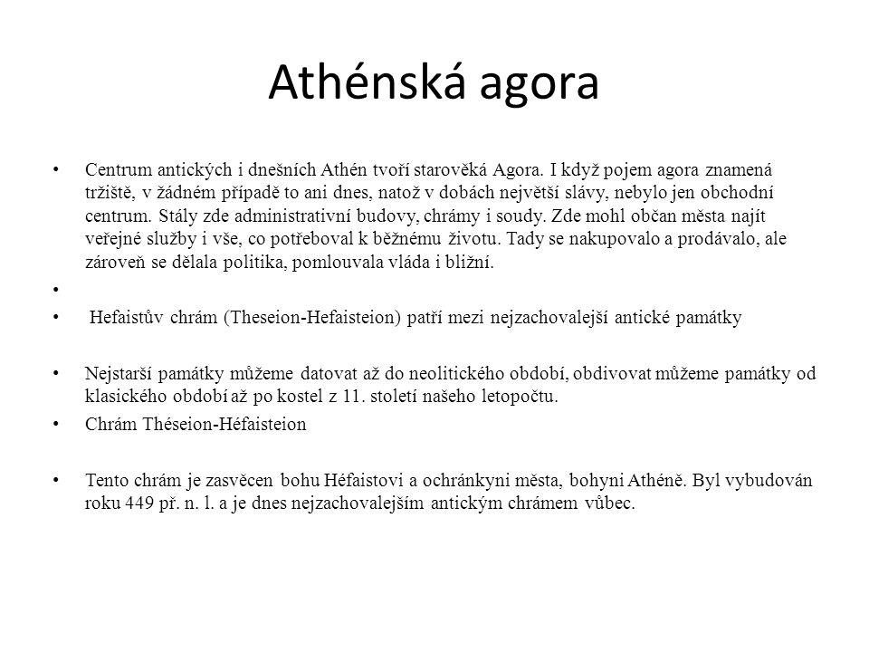 Athénská agora