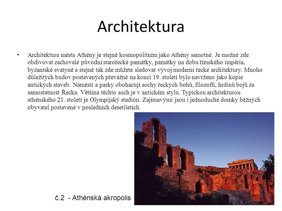 Architektura č.2 - Athénská akropolis