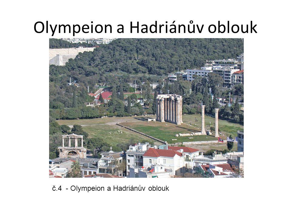 Olympeion a Hadriánův oblouk