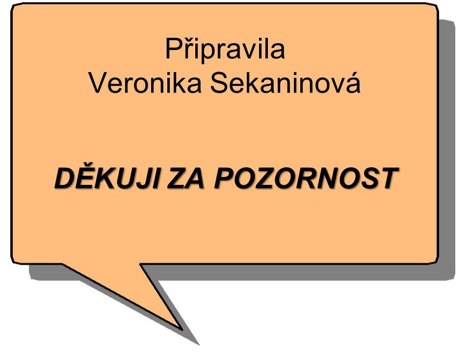 Připravila Veronika Sekaninová