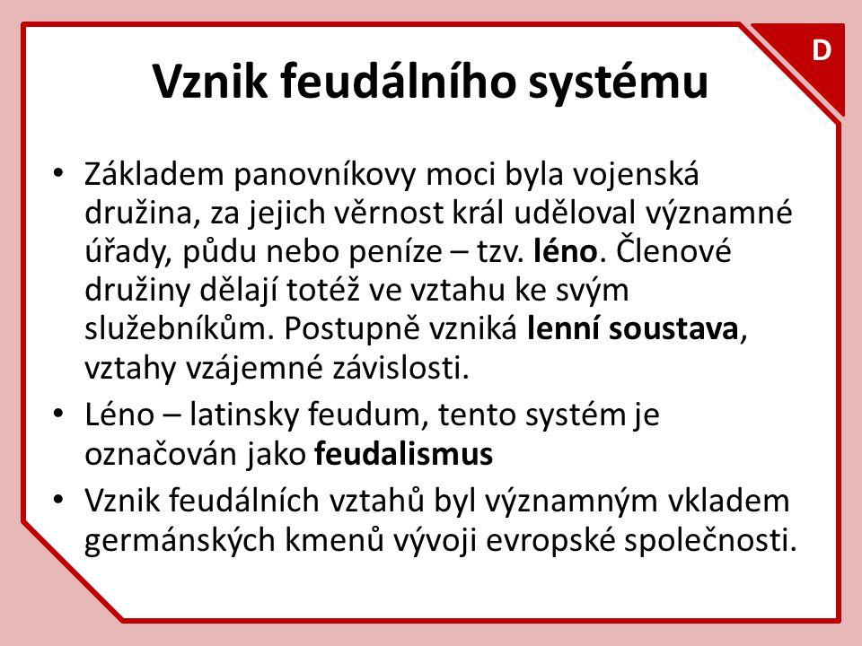 Vznik feudálního systému