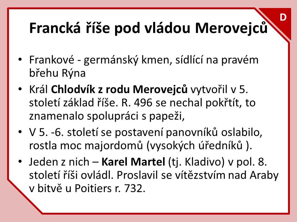Francká říše pod vládou Merovejců