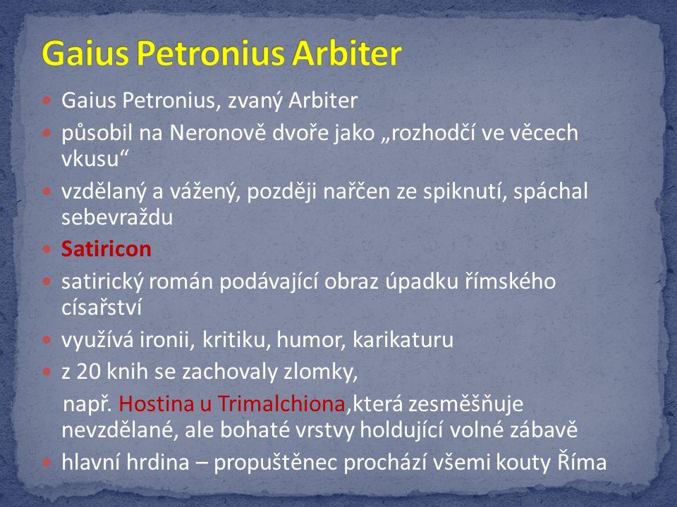 Gaius Petronius Arbiter
