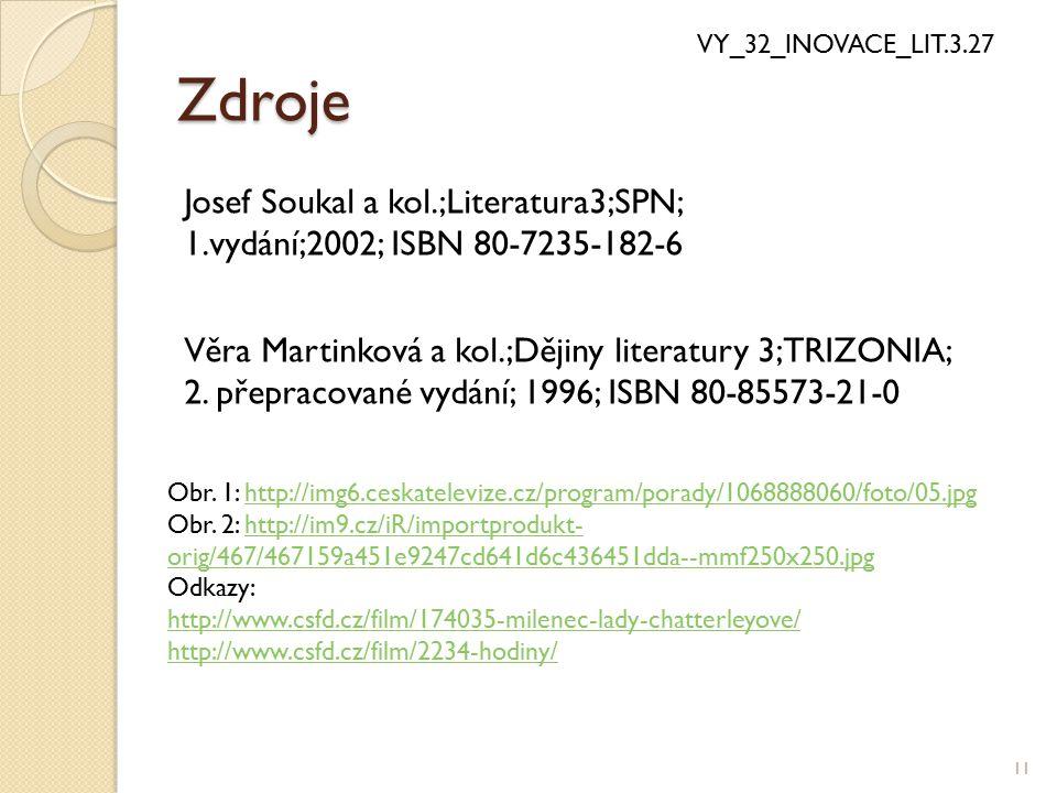 Zdroje Josef Soukal a kol.;Literatura3;SPN;