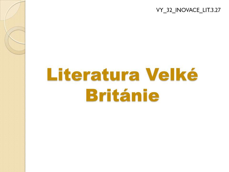 Literatura Velké Británie