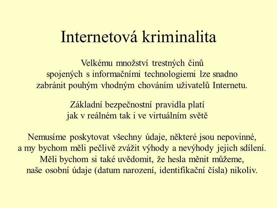 Internetová kriminalita