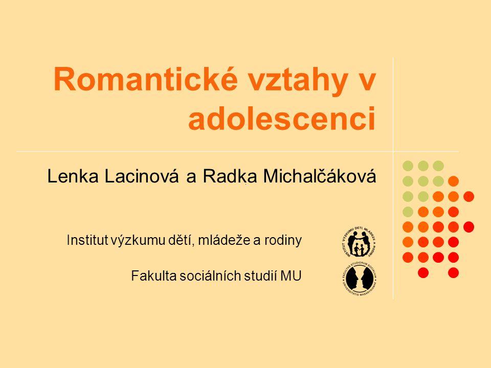 Romantické vztahy v adolescenci