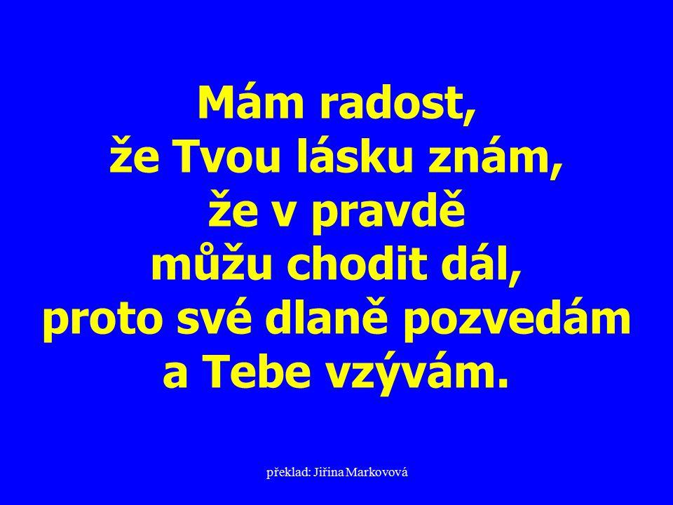 překlad: Jiřina Markovová