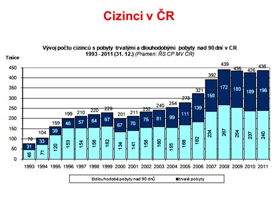 Cizinci v ČR Na