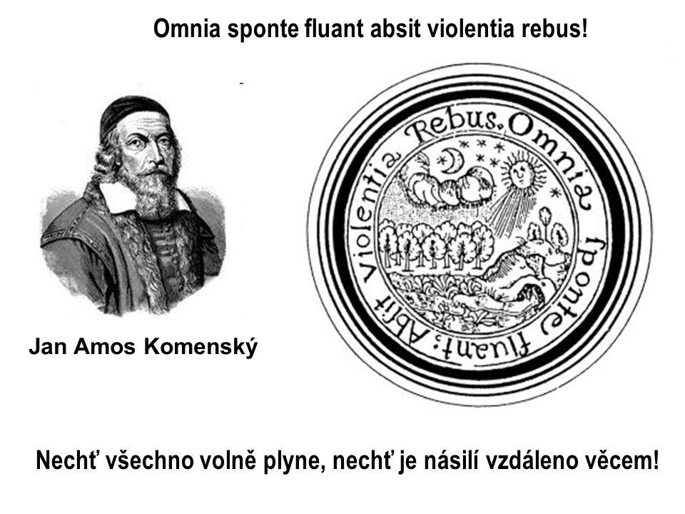 Omnia sponte fluant absit violentia rebus!