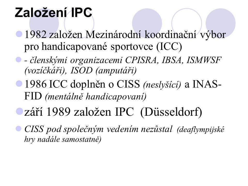 Založení IPC září 1989 založen IPC (Düsseldorf)