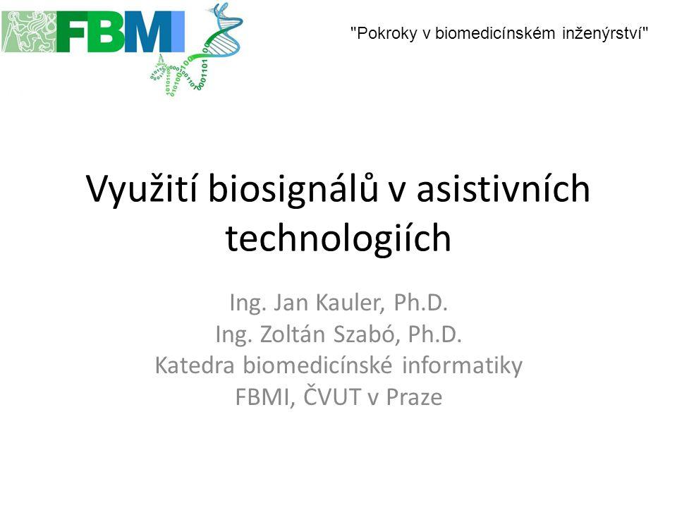 Využití biosignálů v asistivních technologiích