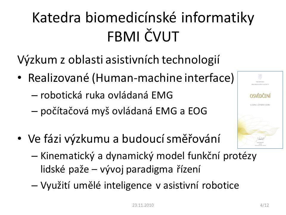 Katedra biomedicínské informatiky FBMI ČVUT