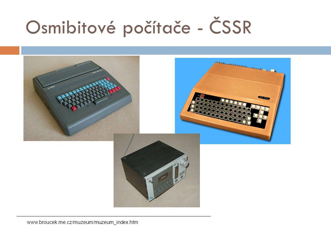 Osmibitové počítače - ČSSR