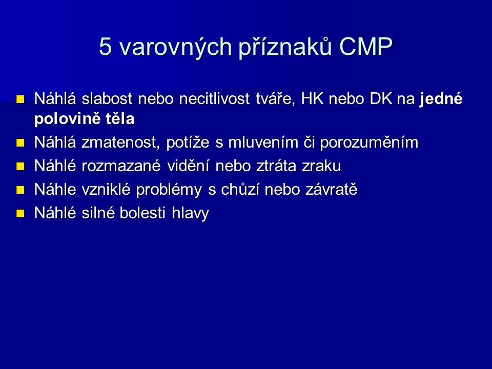 5 varovných příznaků CMP