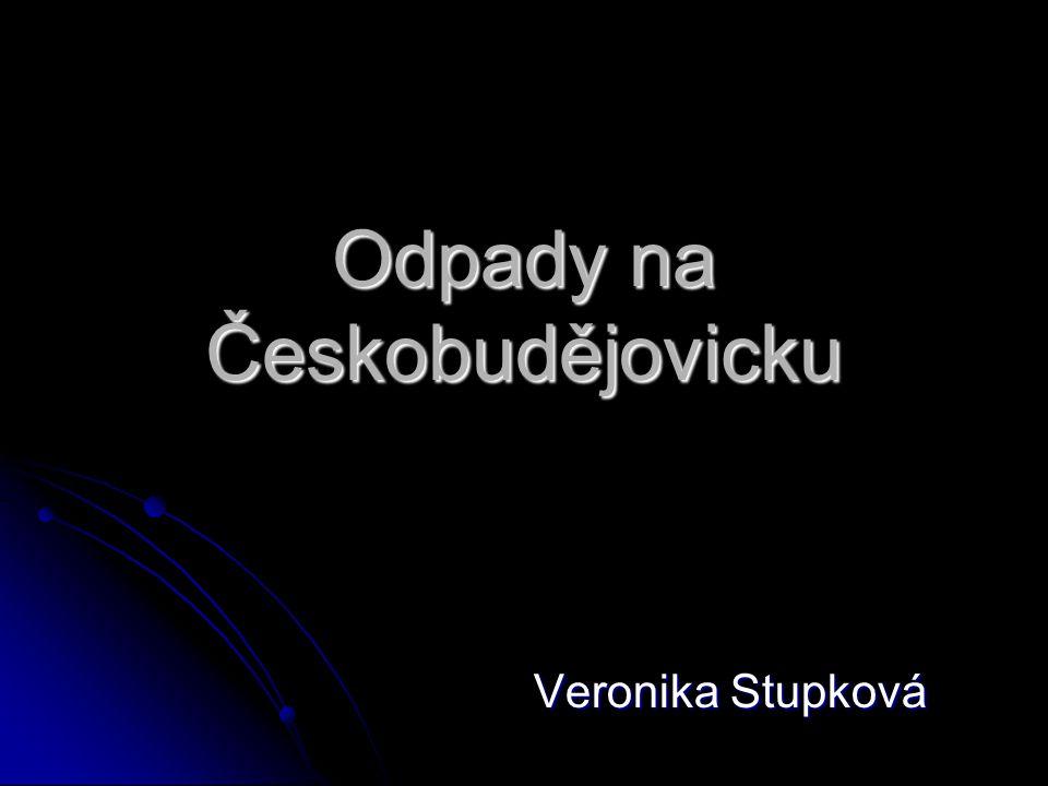 Odpady na Českobudějovicku