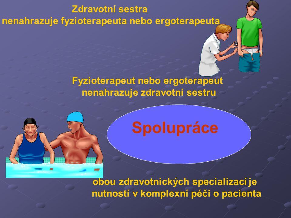 Spolupráce Zdravotní sestra