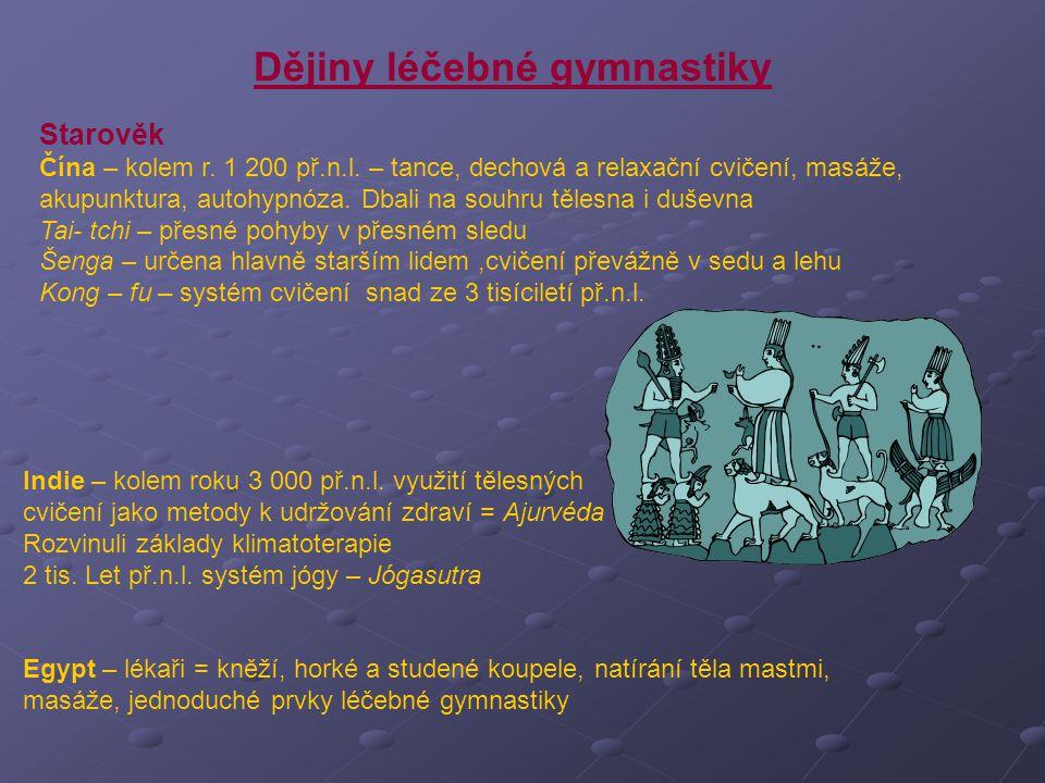 Dějiny léčebné gymnastiky