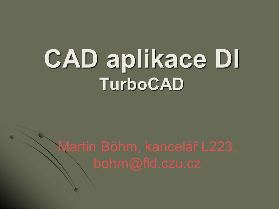 CAD aplikace DI TurboCAD