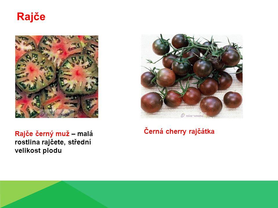 Rajče Černá cherry rajčátka