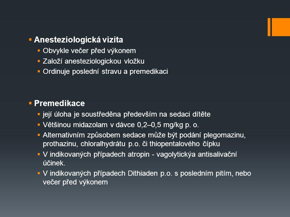 Anesteziologická vizita