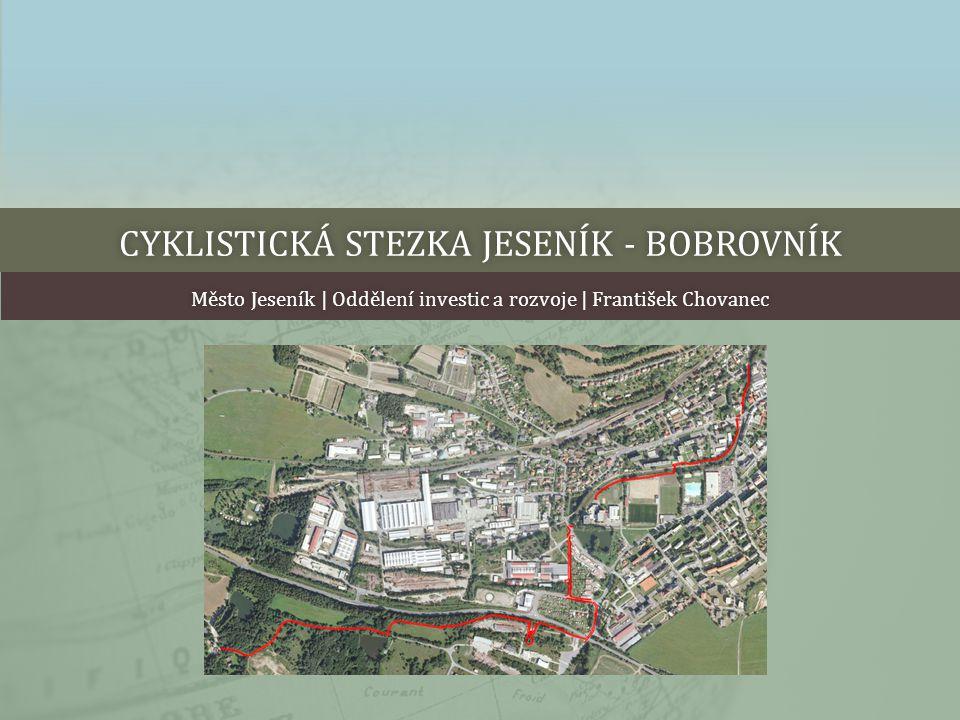 Cyklistická stezka Jeseník - Bobrovník