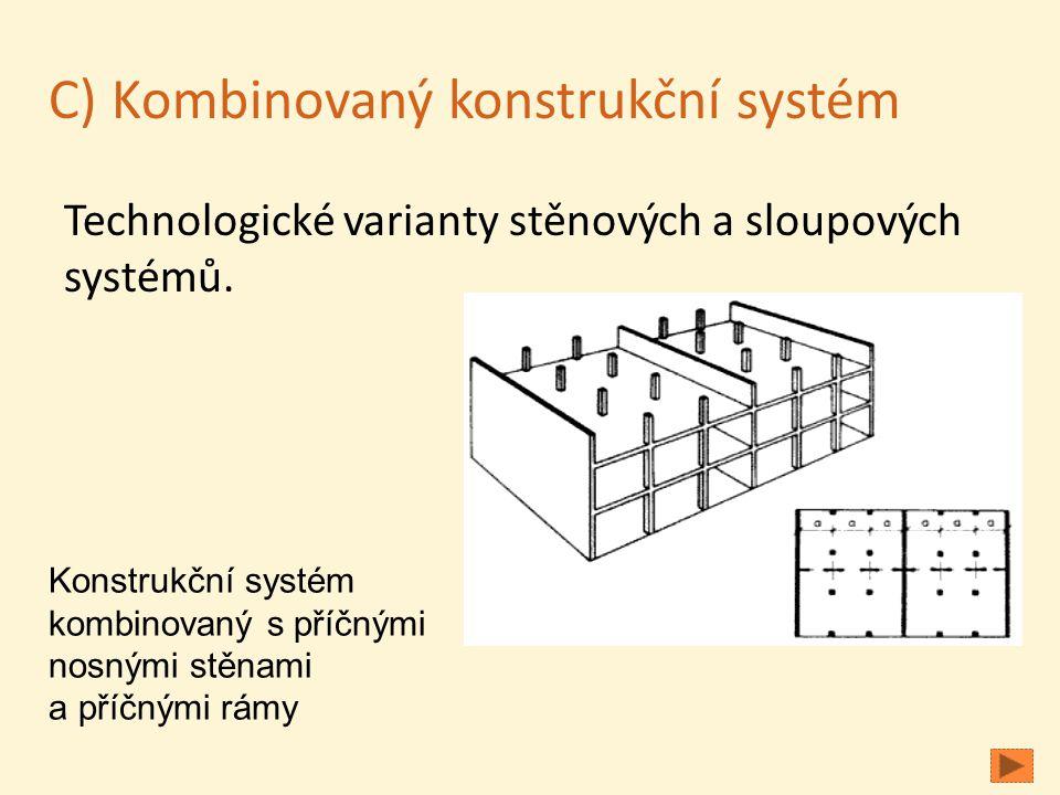 C) Kombinovaný konstrukční systém